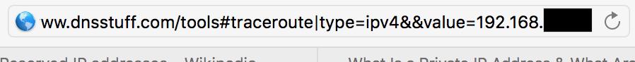traceroute2 URL